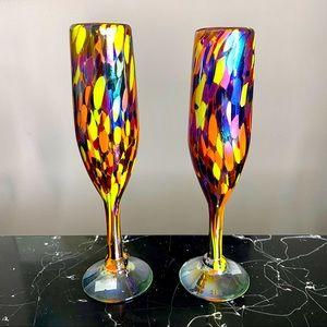 🆕 Confetti Champagne Flutes